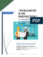 EVALUACION DE PROYECTOS CARLOS DIANA ADA