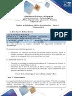 Guia de actividades y Rúbrica de evaluación - Tarea 2 - Trigonometría.pdf