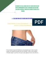 Como Eliminar La Grasa Del Abdomen - 3 Trucos Para Eliminar La Grasa Del Abdomen