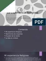 La Experiencia Religiosa 9-4