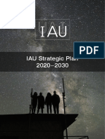 IAU; Strategic Plan-2020-2030