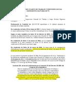 Informe Demanda Laboral, proceso 01173-2012-02773