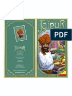 Jaipur (Folleto A4, 2 CARAS, COLOR)