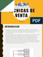 TECNICAS DE VENTA 6