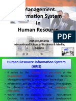 MIS (Management Information System) in HR applications