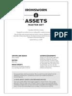Ironsworn Assets Master Set