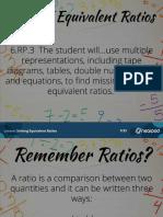 solving ratios nearpod