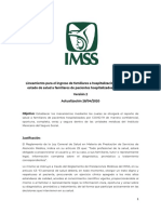 LINEAMIENTO INFORME MEDICO FAMILIARES