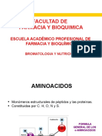 CLASE 4 BROMATOLOGIA PROTEINAS