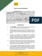 ACUERDO LICENCIA NO REMUNERADA - ESTEFANY