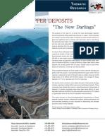 Coppoer Deposits