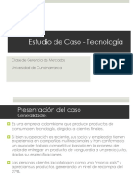 Caso Producto - Tecnología
