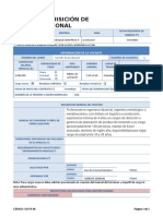 Requisicion de personal gestion humana