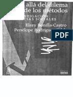 Cuantitativo y Cualitativo mas alla del metodo Nelssy Bonilla
