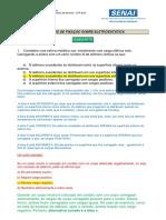 GABARITO 01 - EXERCICIO DE FIXAÇÃO 01 - ELETROESTÁTICA
