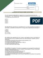 EXERCICIO DE FIXAÇÃO 06 - CAPACITOR