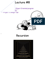 lecture8-handouts Recursion and OOP Design