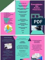 Generalidades Del Análisis Financiero. FOLLETO