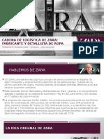 Logística de Zara  - Caso Zara