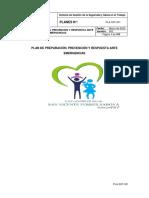 PLA-SST-001 Plan de Preparación, Prevención y Respuesta ante Emergencias ESE 2020 (1)