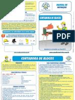 manual-instrucoes-cortadora-de-blocos - casa construtor