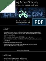 2018-DEFCON-ExploitingADAdministratorInsecurities-Metcalf.pdf
