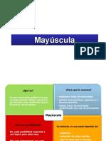 4. Mayúscula