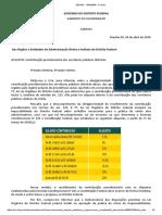 Desconto previdenciário dos servidores do DF passa a ser de até 22%