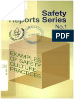 Examples of safety culture practices