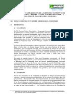 04.0 Conclusiones Del Estudio de Hidrologia y Drenaje