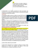 1- DEFINICIÓN ASEGURAR - INFORMACION