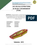 MEMORIA DE CALCULO CAMARA DE REJAS Y DESARENADOR CHURCAMPA PTAP.pdf