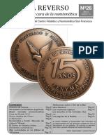 El Reverso No. 26 - Boletín Filatélico y Numismático