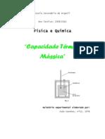 Física - Capacidade termica massica