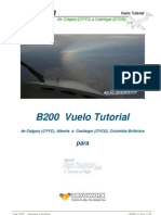 Vuelo Tutorial b200