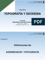 Presentacion 1 AgrimrTopog
