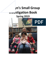 madilyns small group investigation book