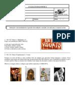 Avaliação Diagnóstica de Arte Para o 6º Ano