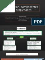 Radiación, componentes y propiedades