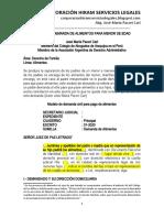 Modelo Demanda de Alimentos - Autor José María Pacori Cari