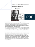 Biografia Frederick W