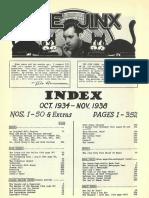 The Jinx Index 001 - 050