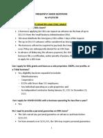 EIDL FAQ 3.27.20
