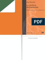 MESSUTI, Ana. La Justicia Deconstruida con anotaciones.pdf
