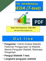 Biostatistik- Uji Beda T - Test
