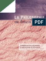 La philosophie une école de la liberté - UNESCO