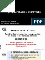 RECUPERACION DE METALES