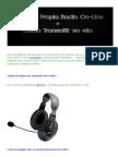 Creár Tu Propia Radio On-Line + Cómo Transmitir en ella