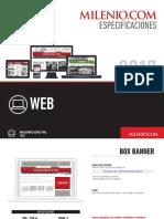 Dimensiones pauta web en Diarios
