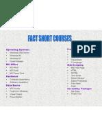 FACT course list